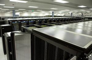 Hệ thống máy chủ của Facebook tại Santa Clara, CA, US