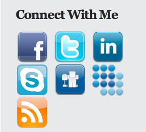 Social Media Widget plugin cho WordPress