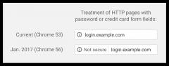 websites không dùng SSL