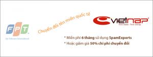 Chuyển tên miền quốc tế từ FPT về VietNAP