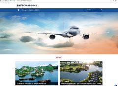 tên miền thương hiệu của Bamboo Airways bị giả mạo